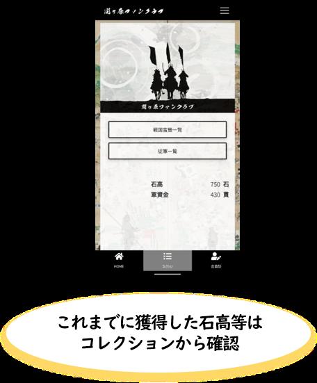 関ケ原ファンクラブに「戦国富籤」をリリースしました。 3